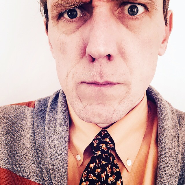 #tiedayfriday is orange themed because it has nothing to do with blizzards. And, yes, those are tiny lions.