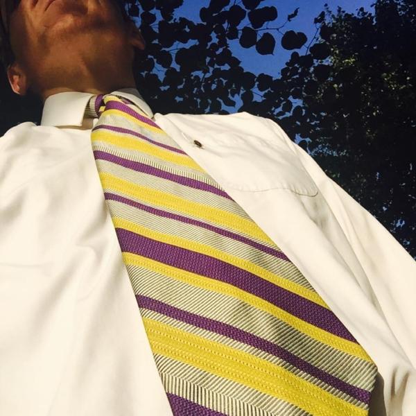 #tiedayfriday featuring Jerry's #vintage #Tucumcari Rattlers tie.