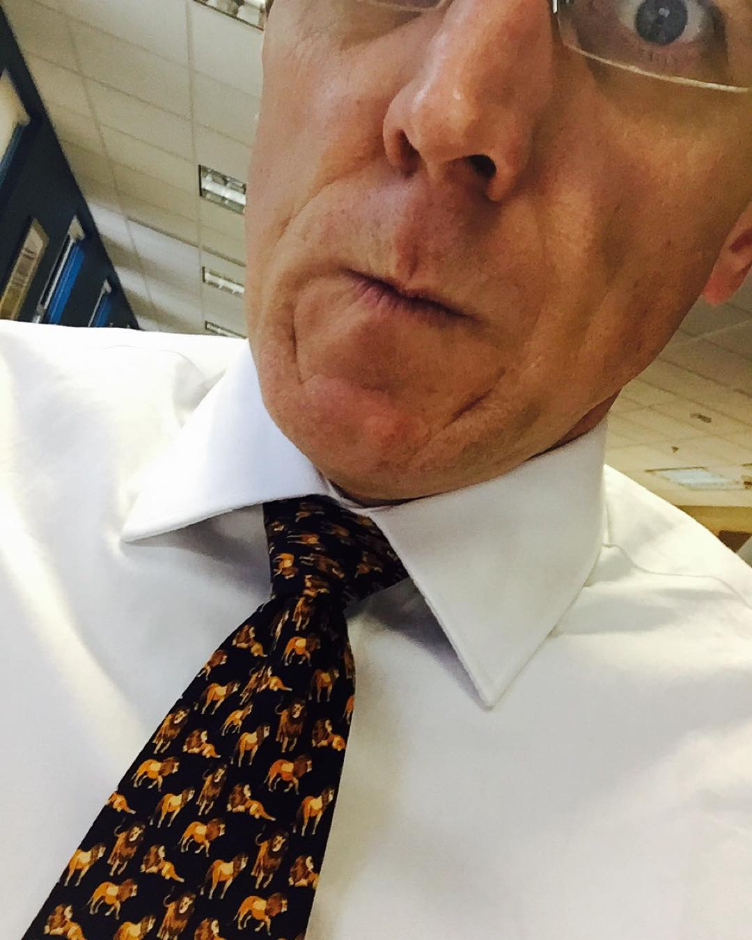 #Lions people! Lynds! #tiedayfriday