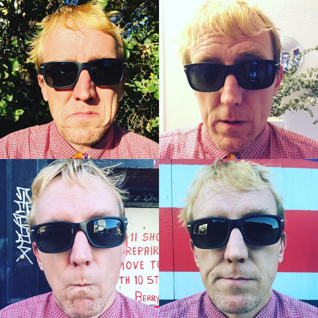 "Inspired by #warhol #tiedayfriday in #nyc  09-12 of ""16 of me""  photos @sundilu"