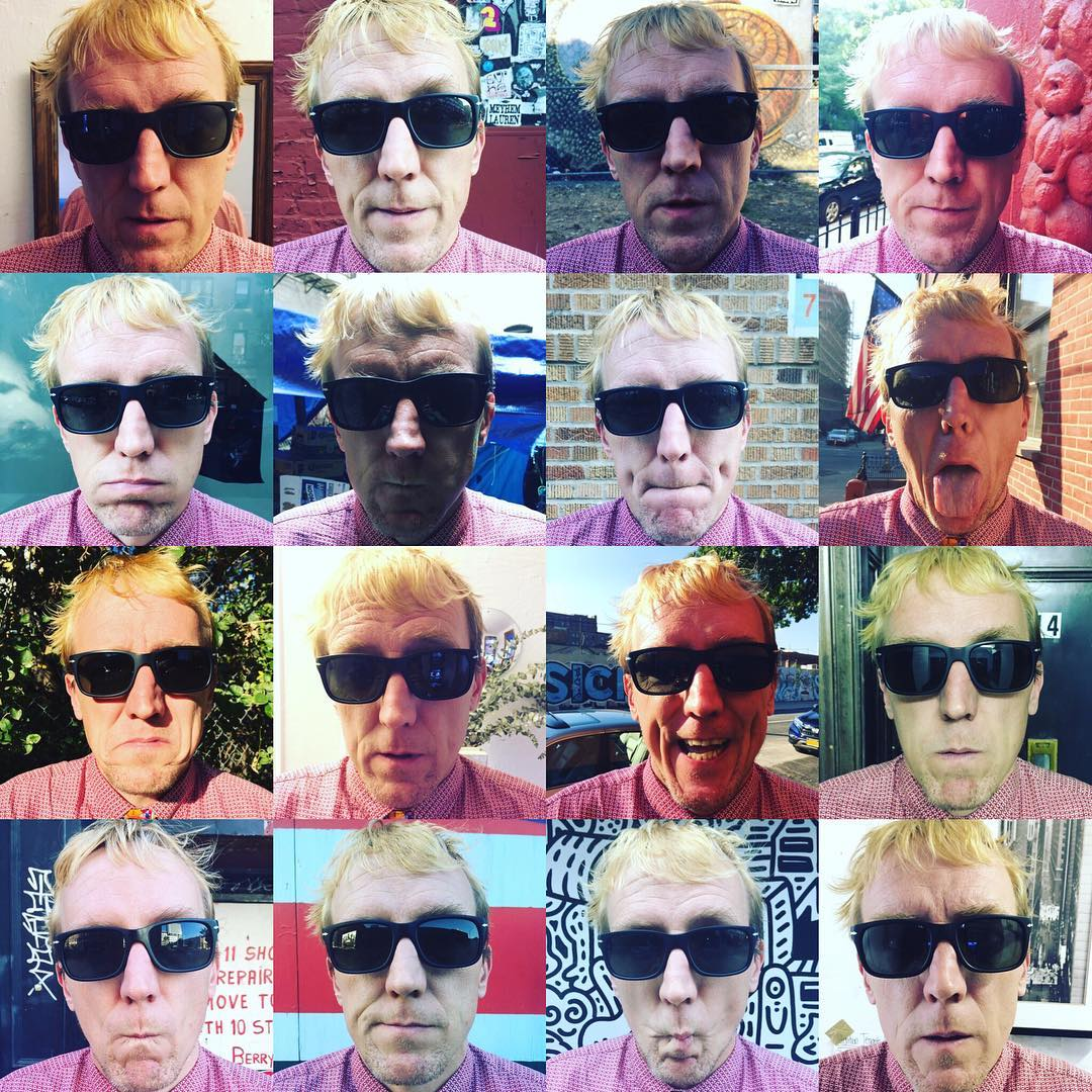 "Inspired by #warhol #tiedayfriday in #nyc  01-16 of ""16 of me""  photos @sundilu"