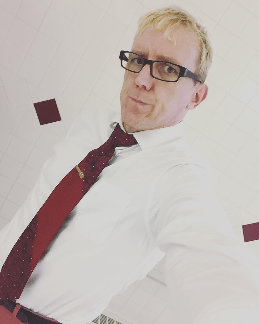 Missed #redfored so thought I would represent for #tiedayfriday