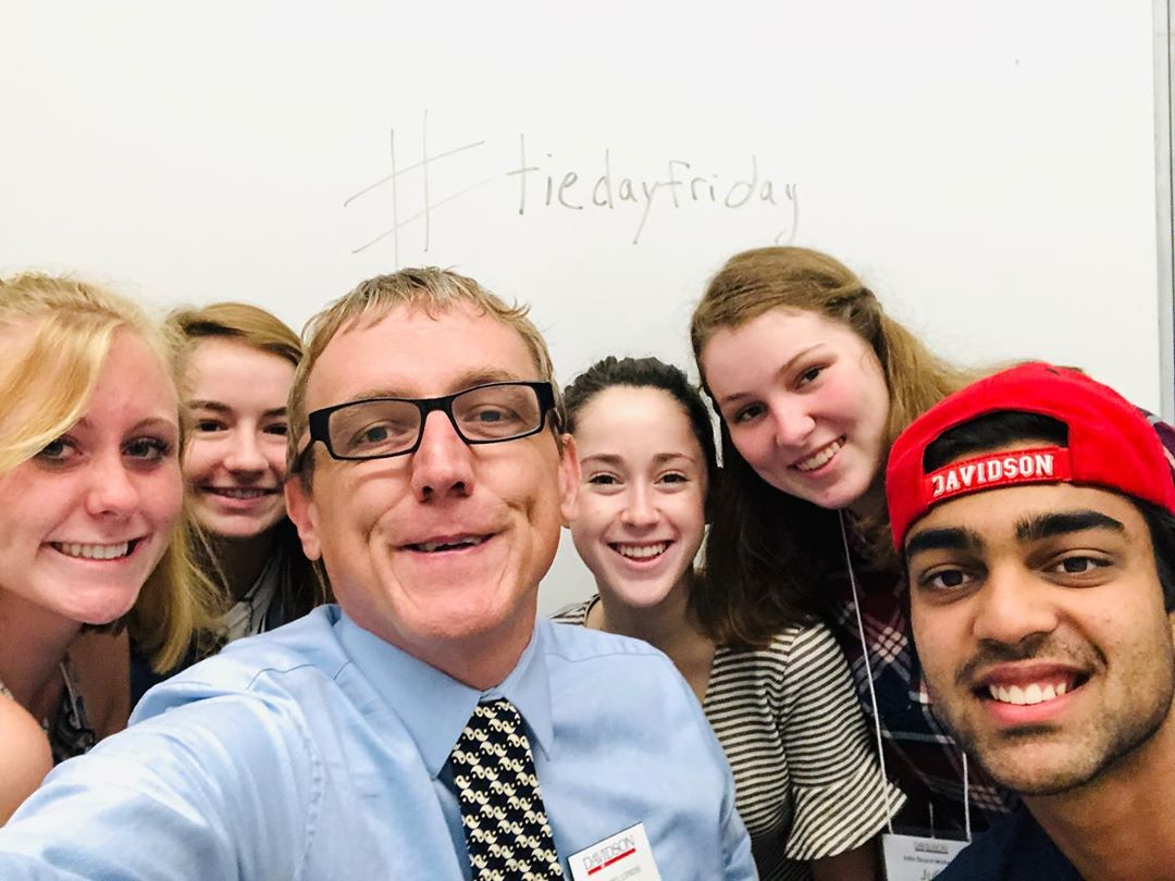 INTERNETZ!!! These are my amazing @davidsoncollege advisees for #tiedayfriday !!